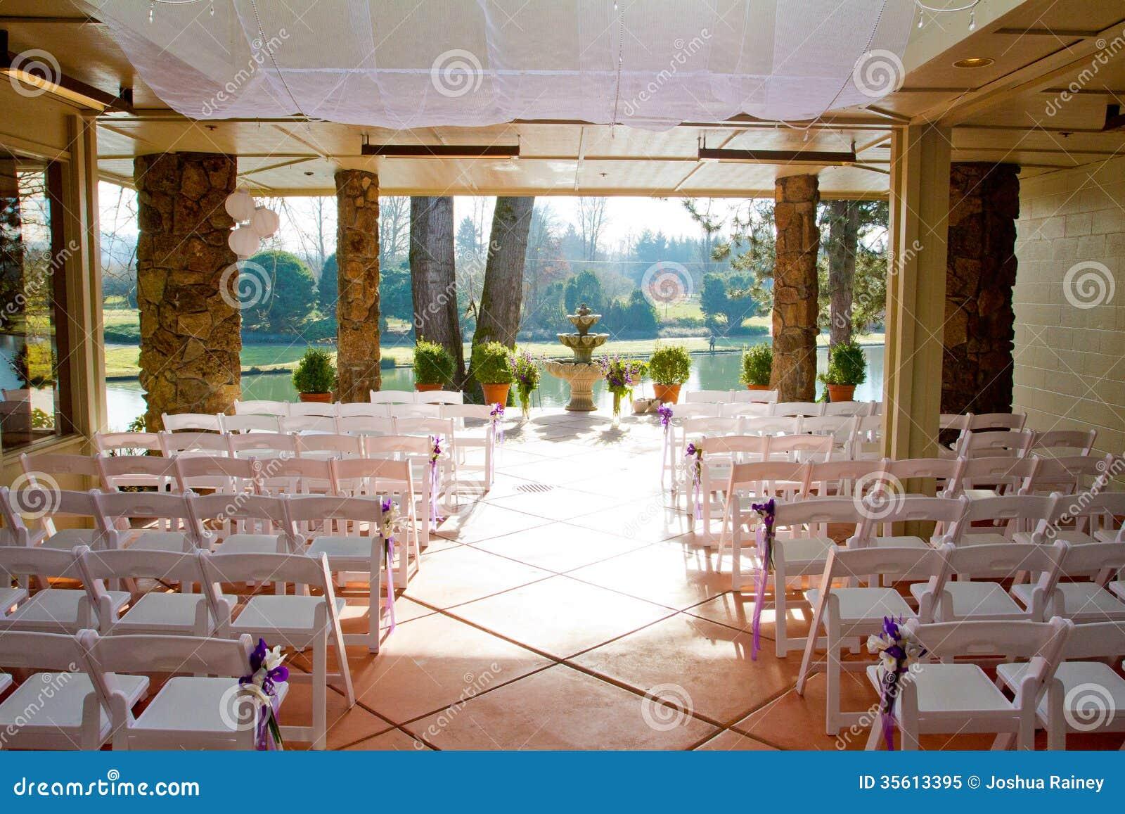 Indoor wedding venue royalty free stock photo image for Small indoor wedding venues