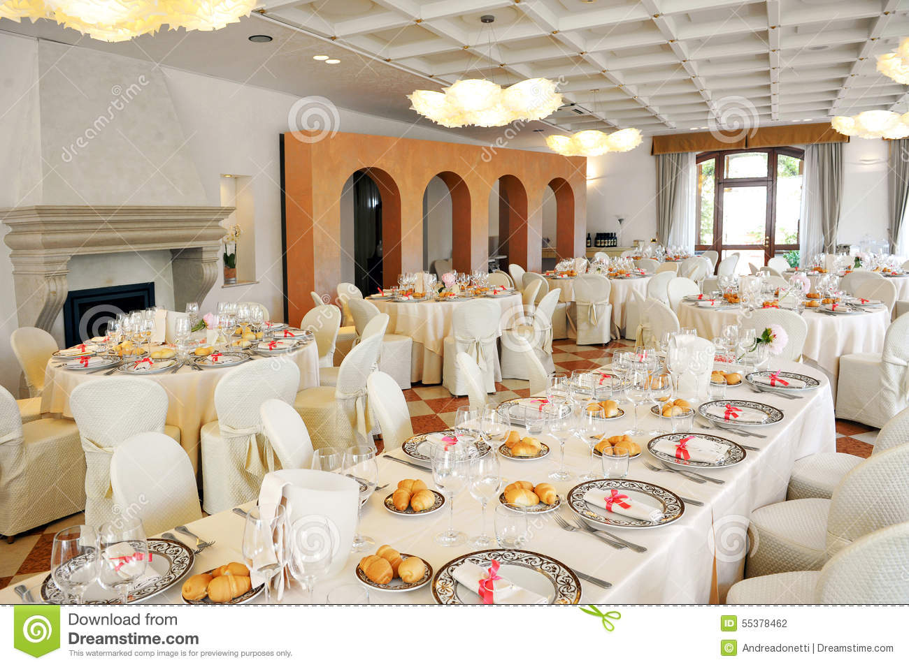 Indoors Wedding Reception Venue Editorial Photography Image Of