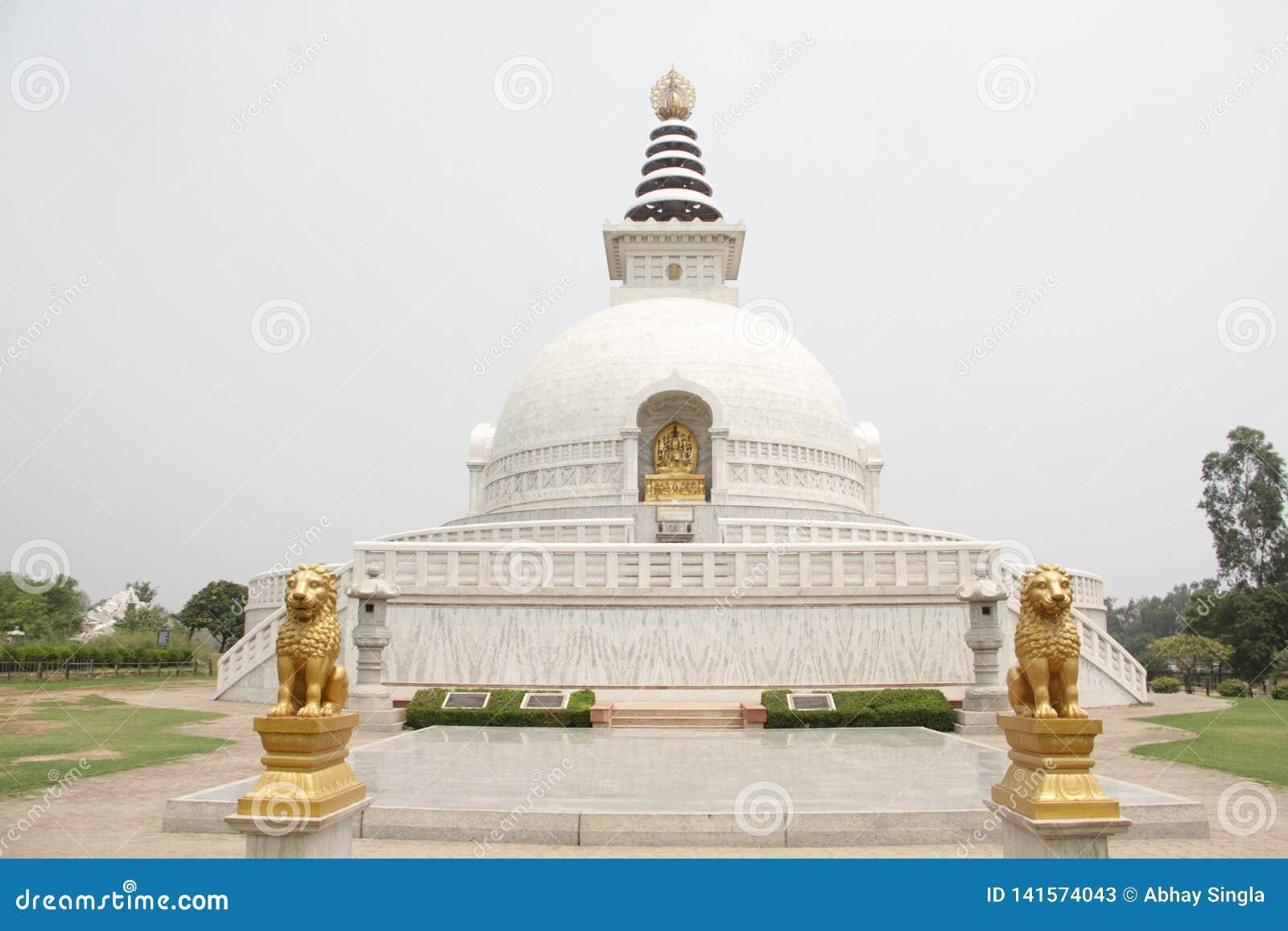 Indraprastha parkerar tempelsikt