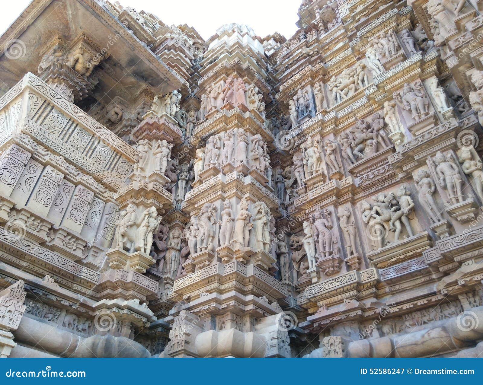 Indu kama sutra khajuraho świątyni świątyń