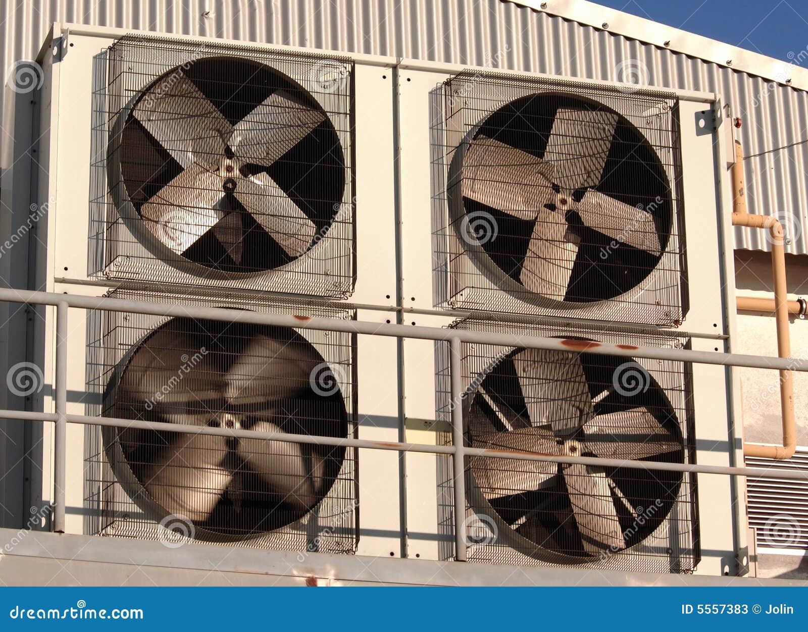 Industriële airconditioner en ventilatie