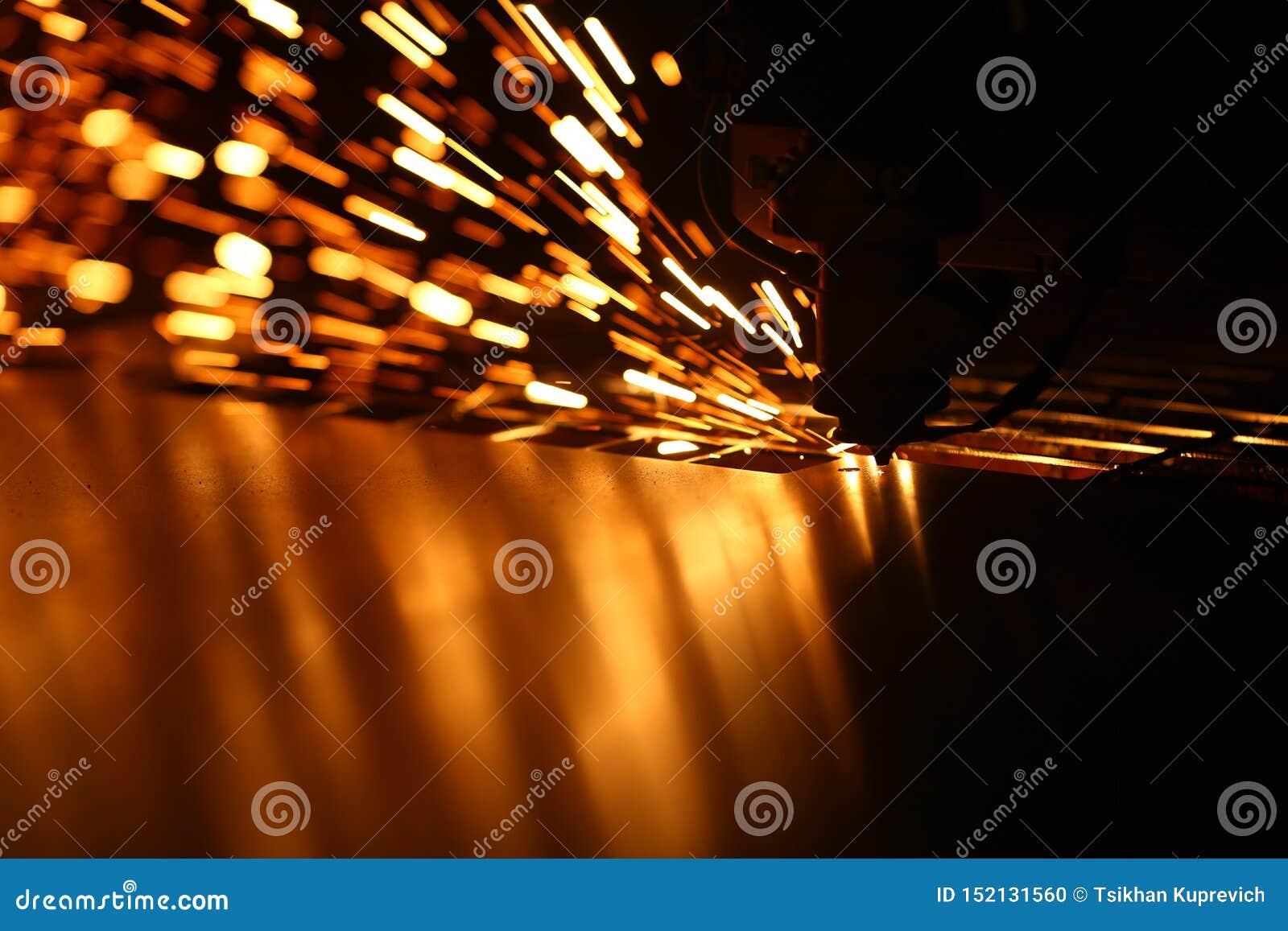Industriële lasermachine voor metaal
