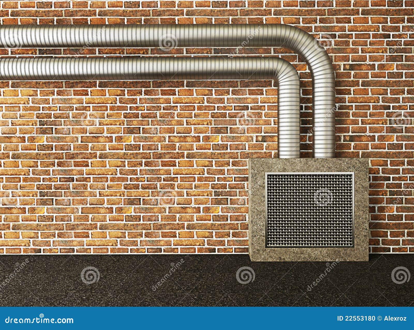 Industri le muur stock foto afbeelding 22553180 for Industriele muur