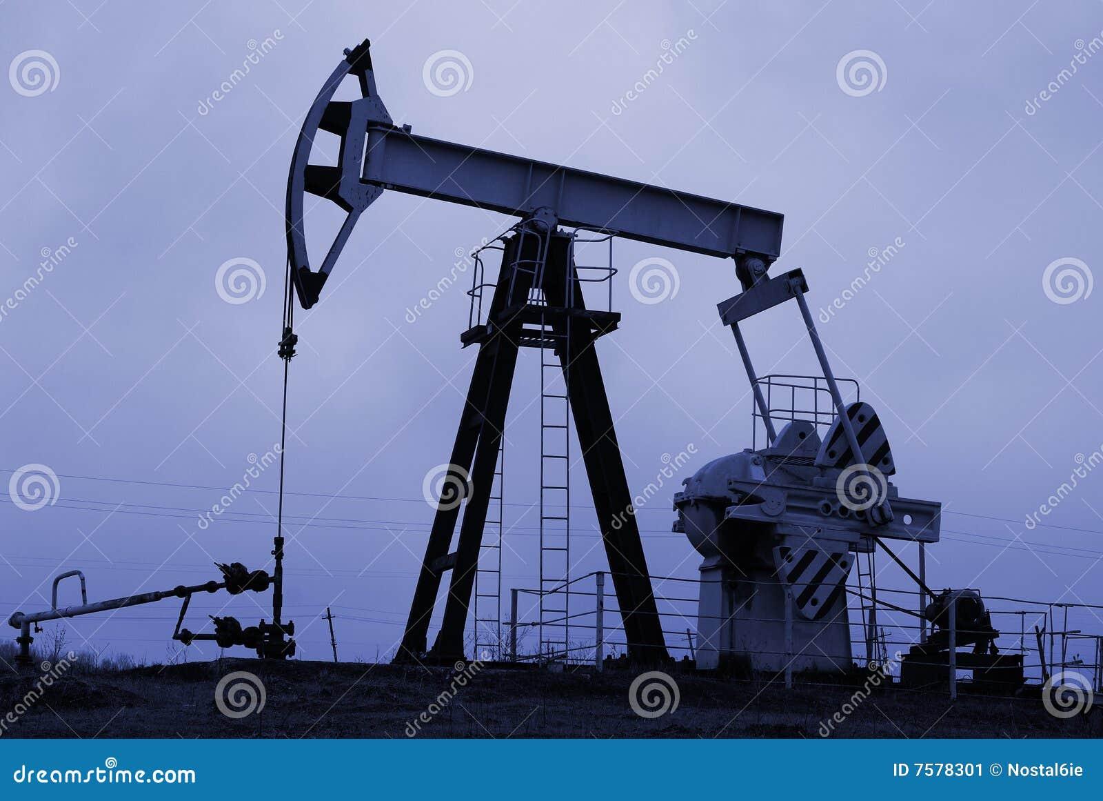 Industriële oliepomp