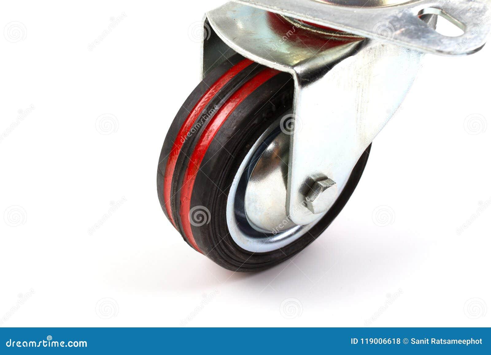 Industriële Rubber de Gietmachinewielen van de karretje enige Wartel