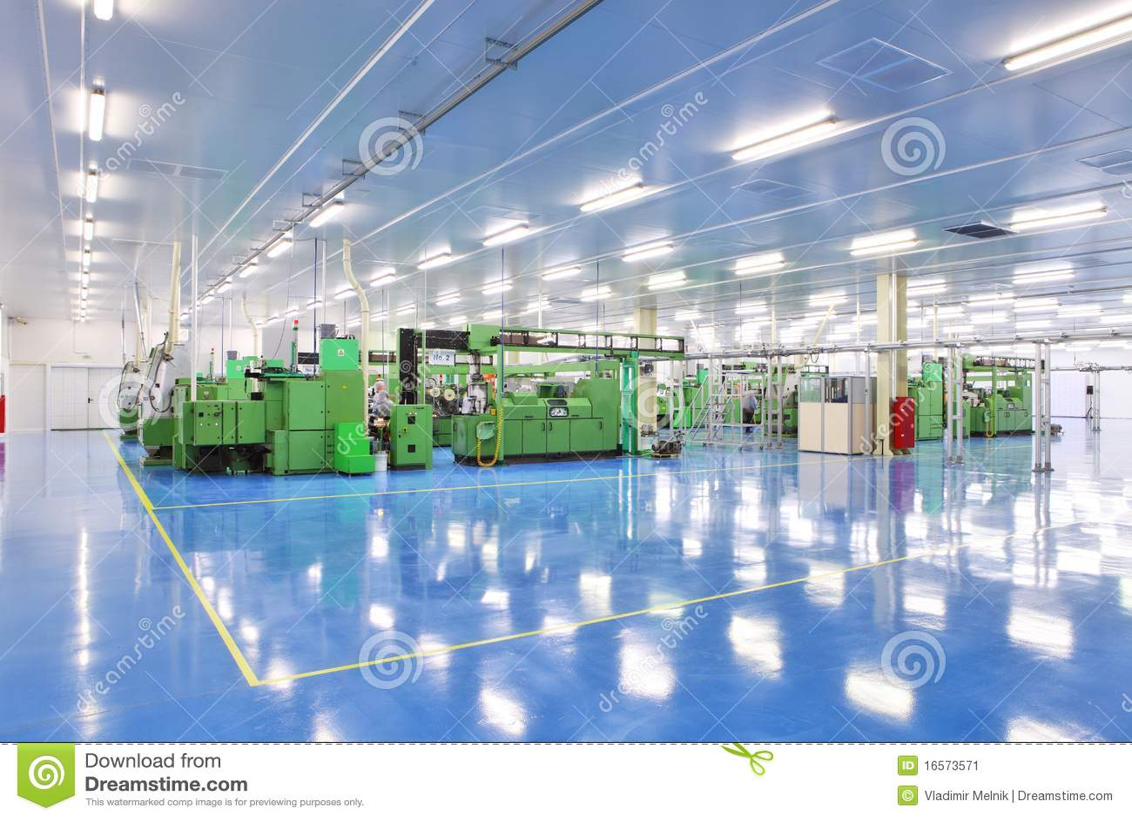 Industriële ruimte