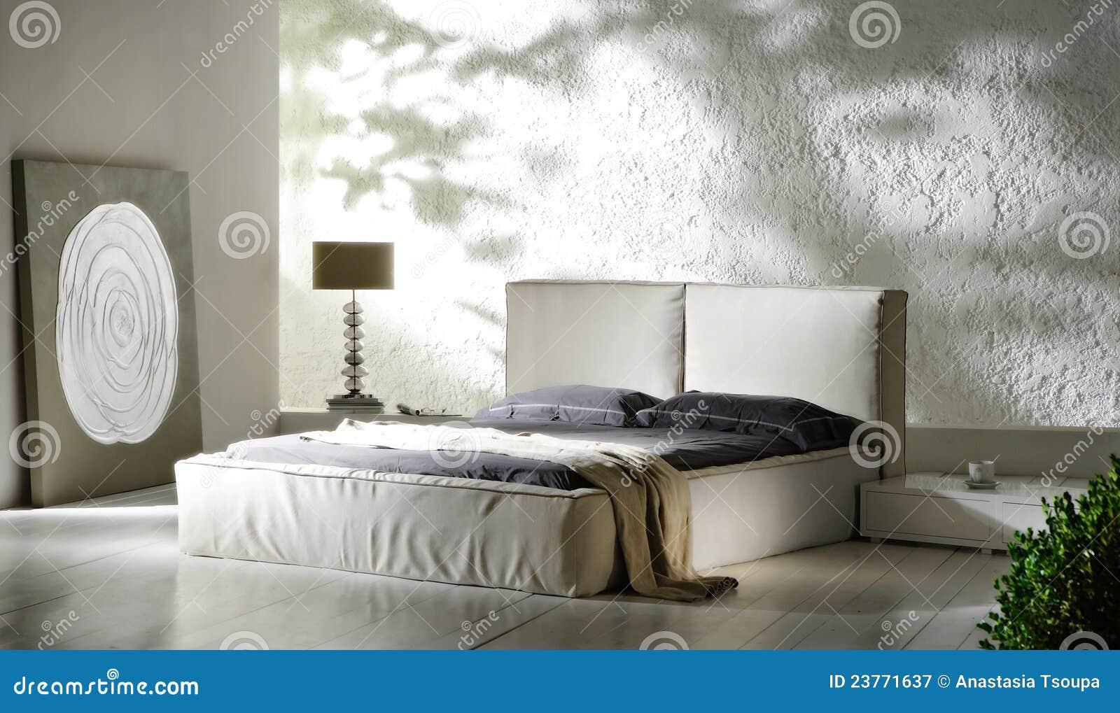 Industriële slaapkamer stock afbeelding. Afbeelding bestaande uit ...