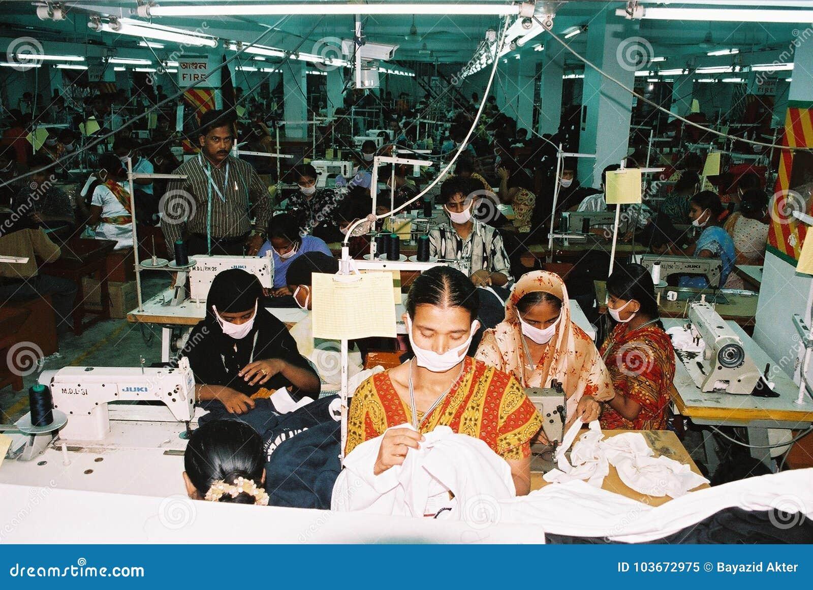 Industria de ropa en Bangladesh