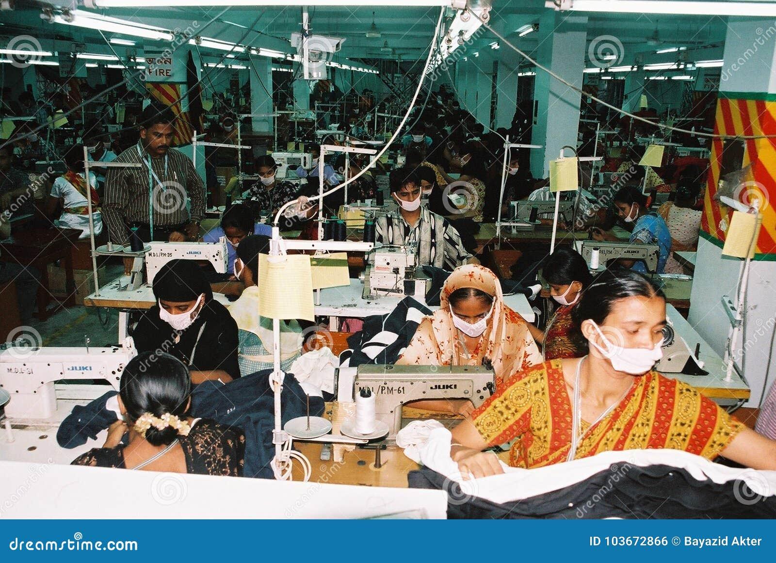 Industria di indumenti nel Bangladesh