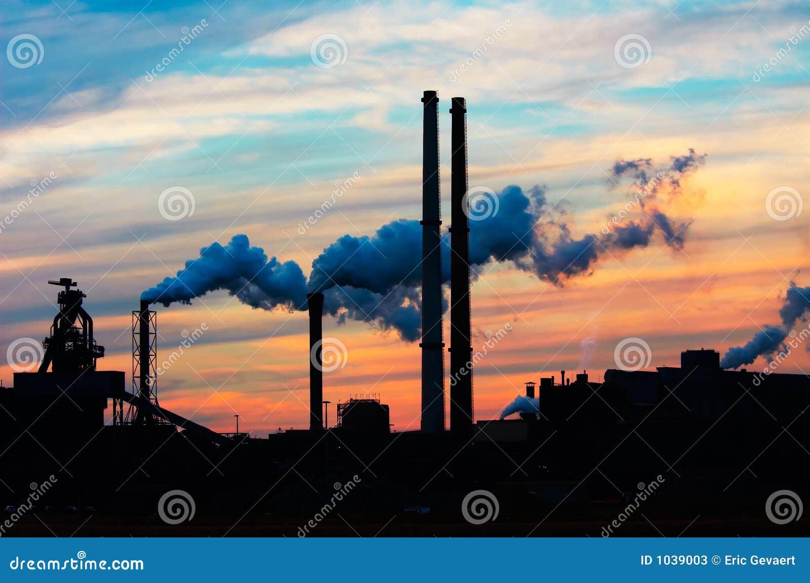 Industria di tramonto