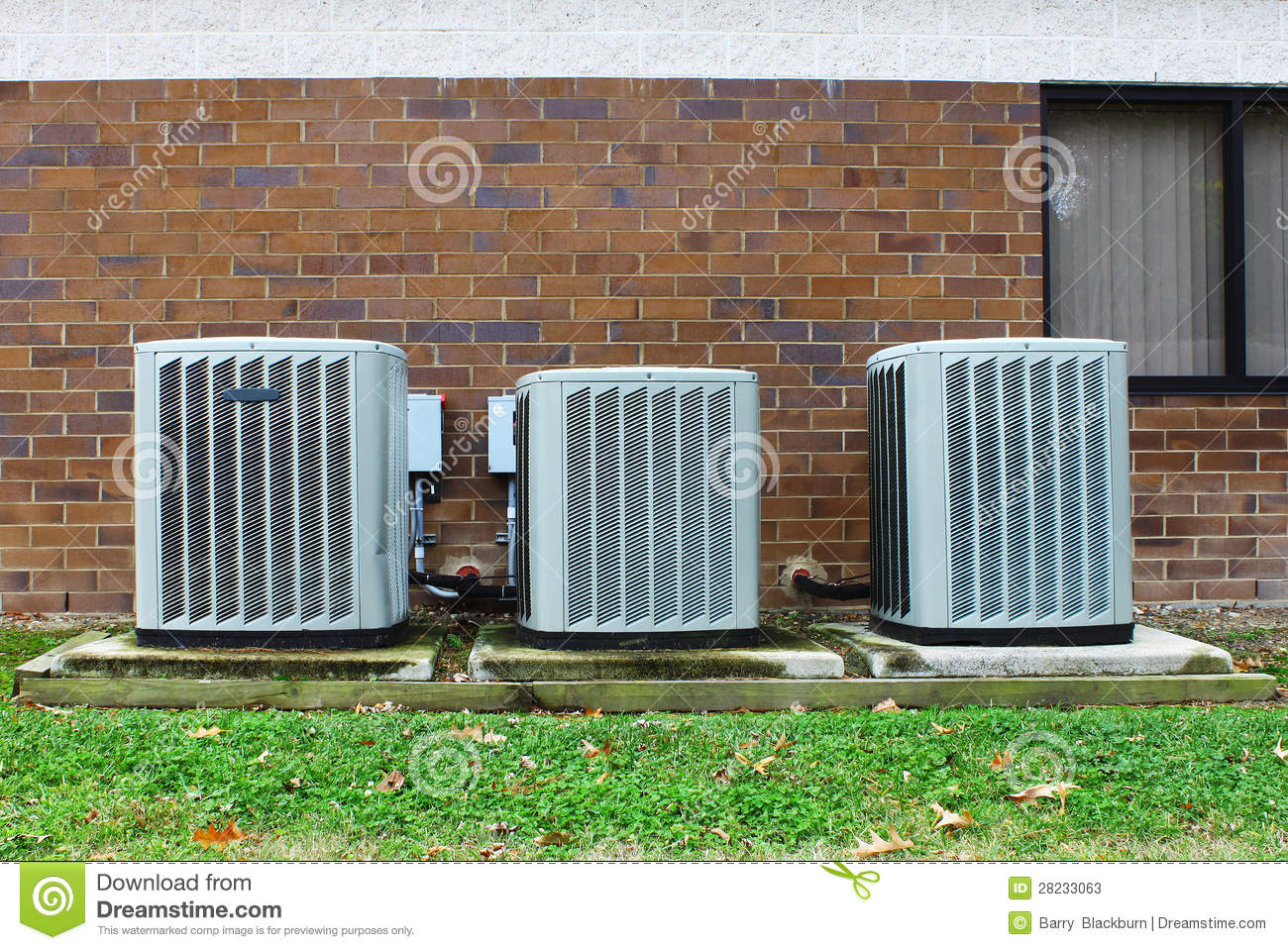 Industrial Air Conditioners Stock Photos Image: 28233063 #45852E