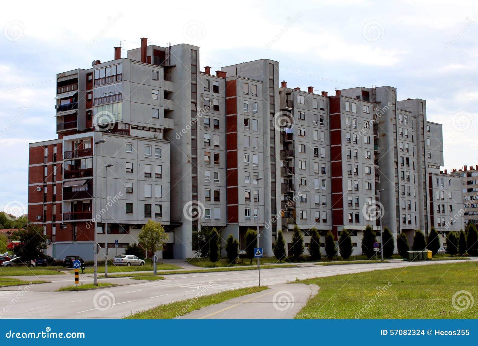 Apartment Building Front apartment building front stock photo - image: 43390171