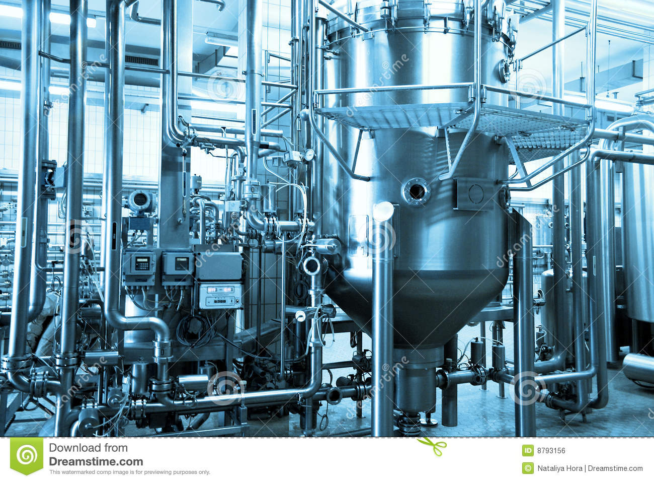 Industrial Background Royalty Free Stock Image - Image: 8793156