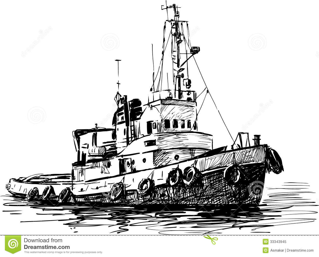 Industrial Boat Royalty Free Stock Photo - Image: 33343945