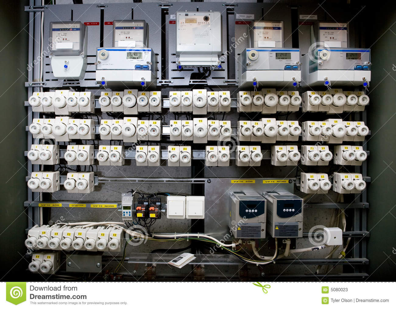 industrial breaker box stock image image of fuse safety 5080023