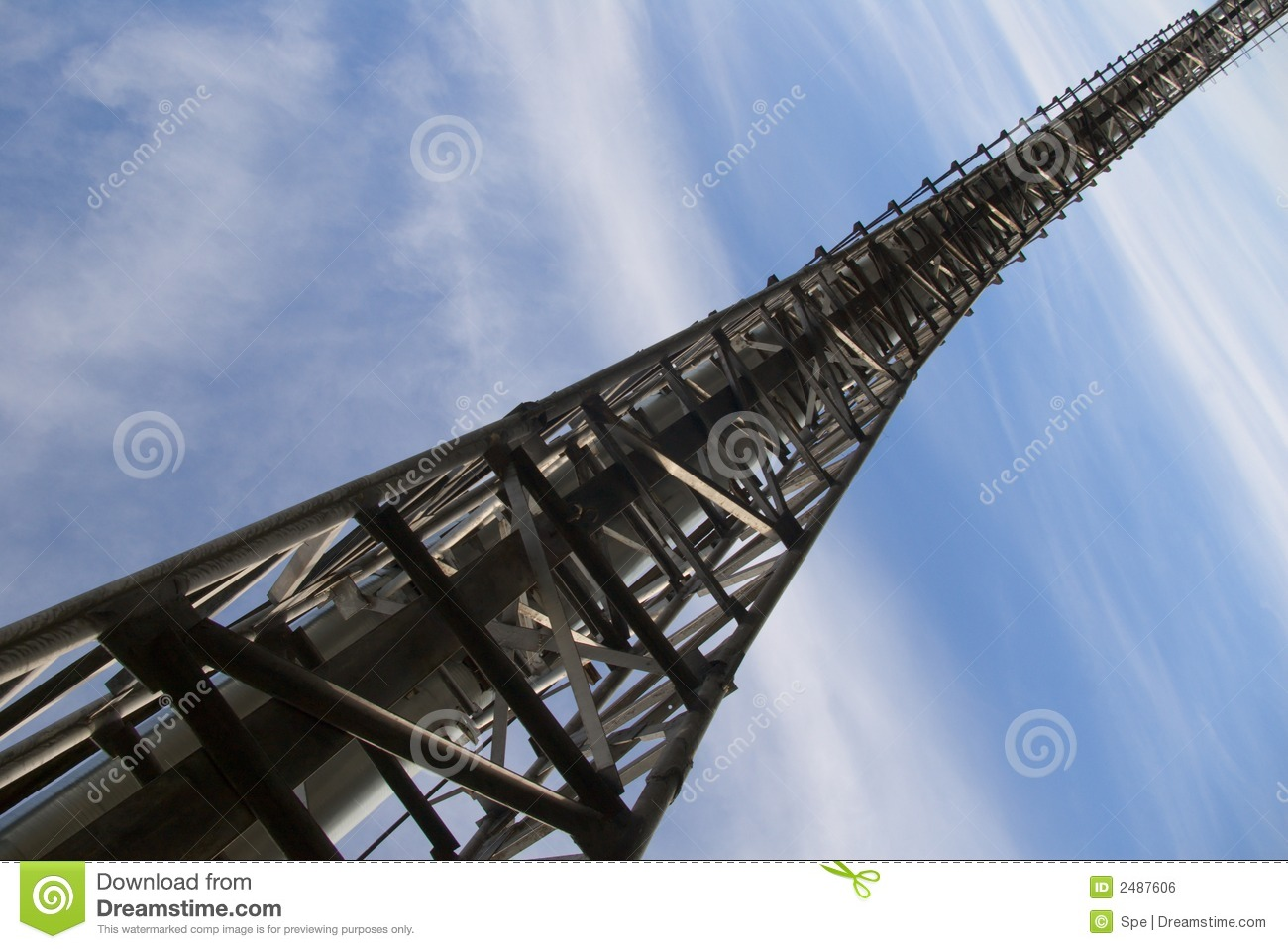 Industrial bridge stock photo. Image of girder, modern ...