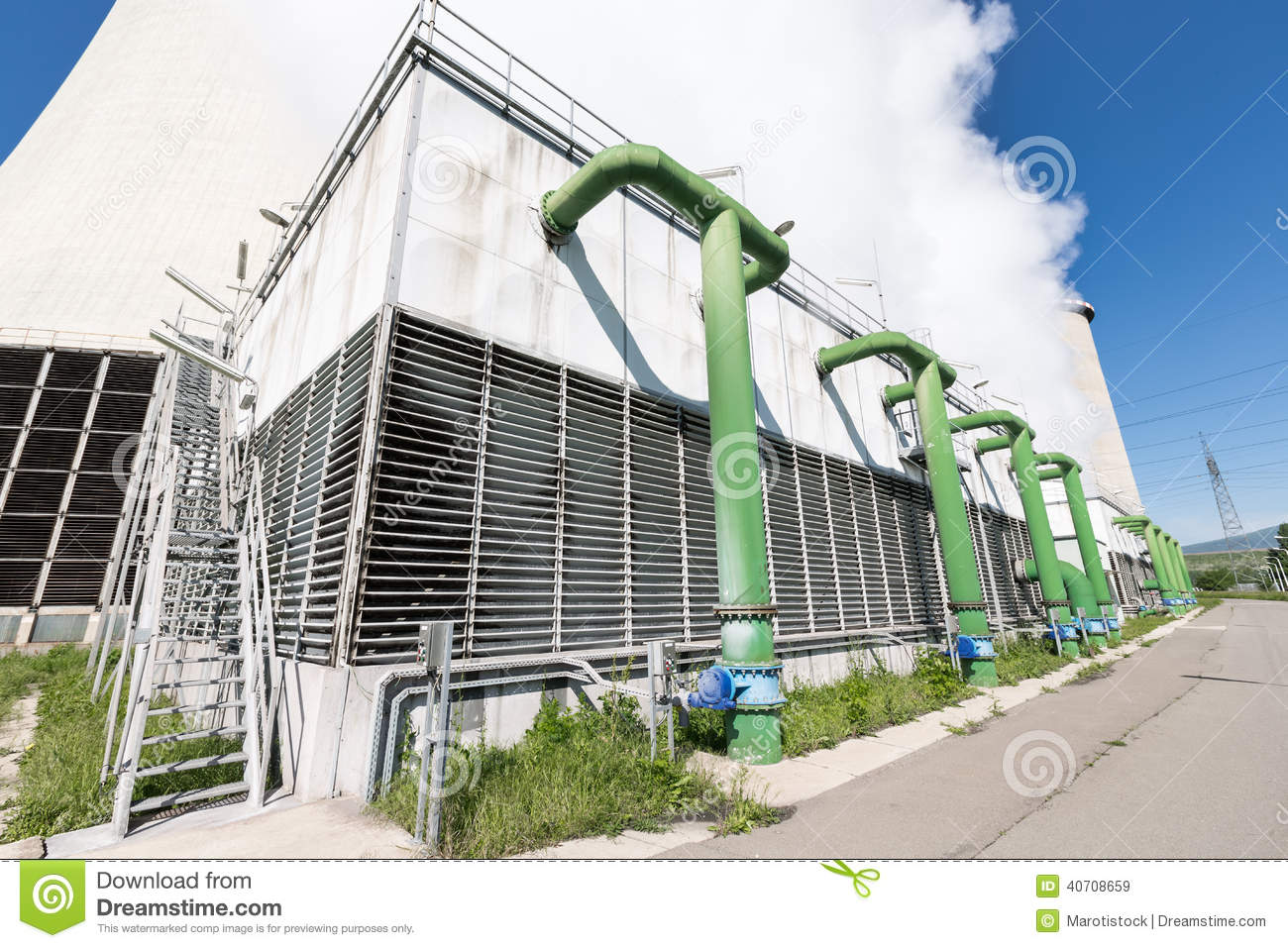 Industrial Chiller Stock Photo Image: 40708659 #31649A