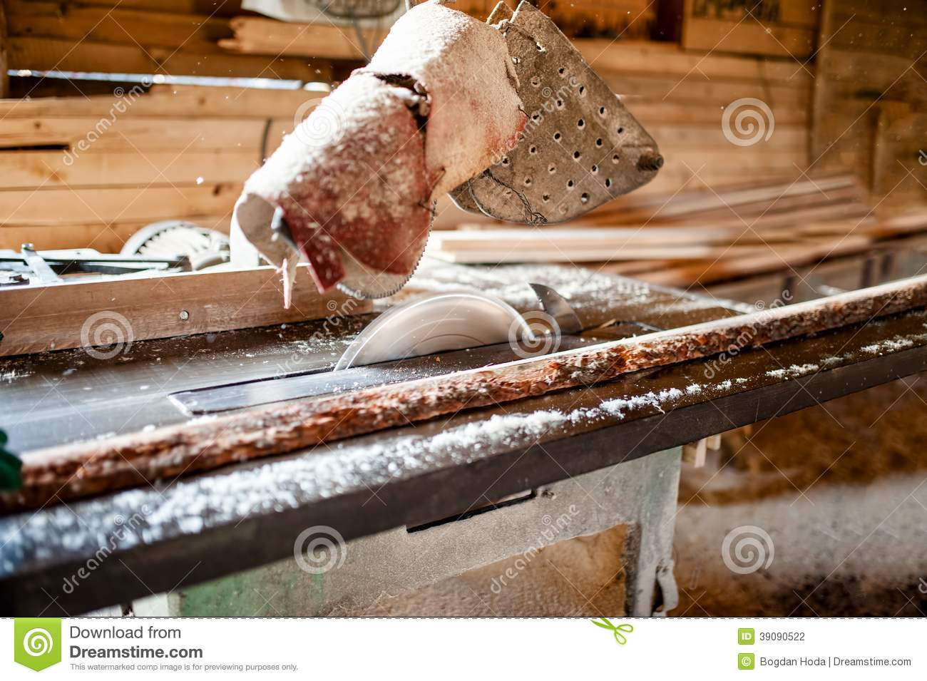 Magazine word background stock photography image 12291482 - Industrial Circular Saw In Wood Production Factory Stock Photography