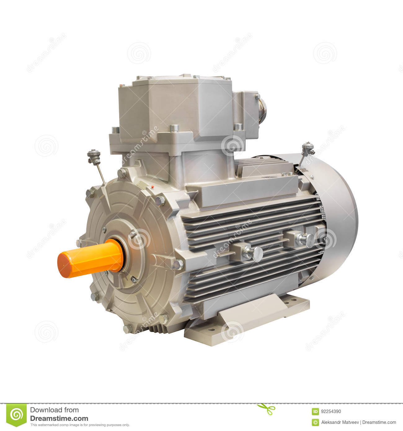 electric generator motor. Industrial Electric Motor Generator Isolated On White Background Stock Photo - Image Of Generation, Industrial: 92254390 C