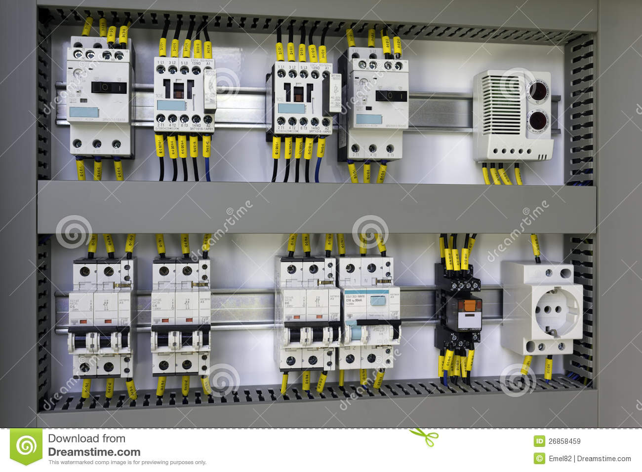 Industrial Electrical Equipment Stock Image Image 26858459