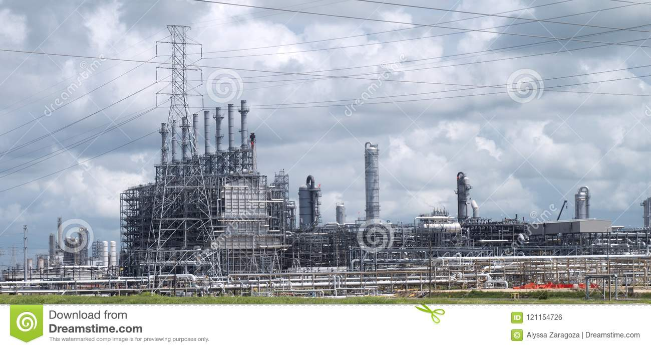 electrical plant facility showing industrial equipment and transformers