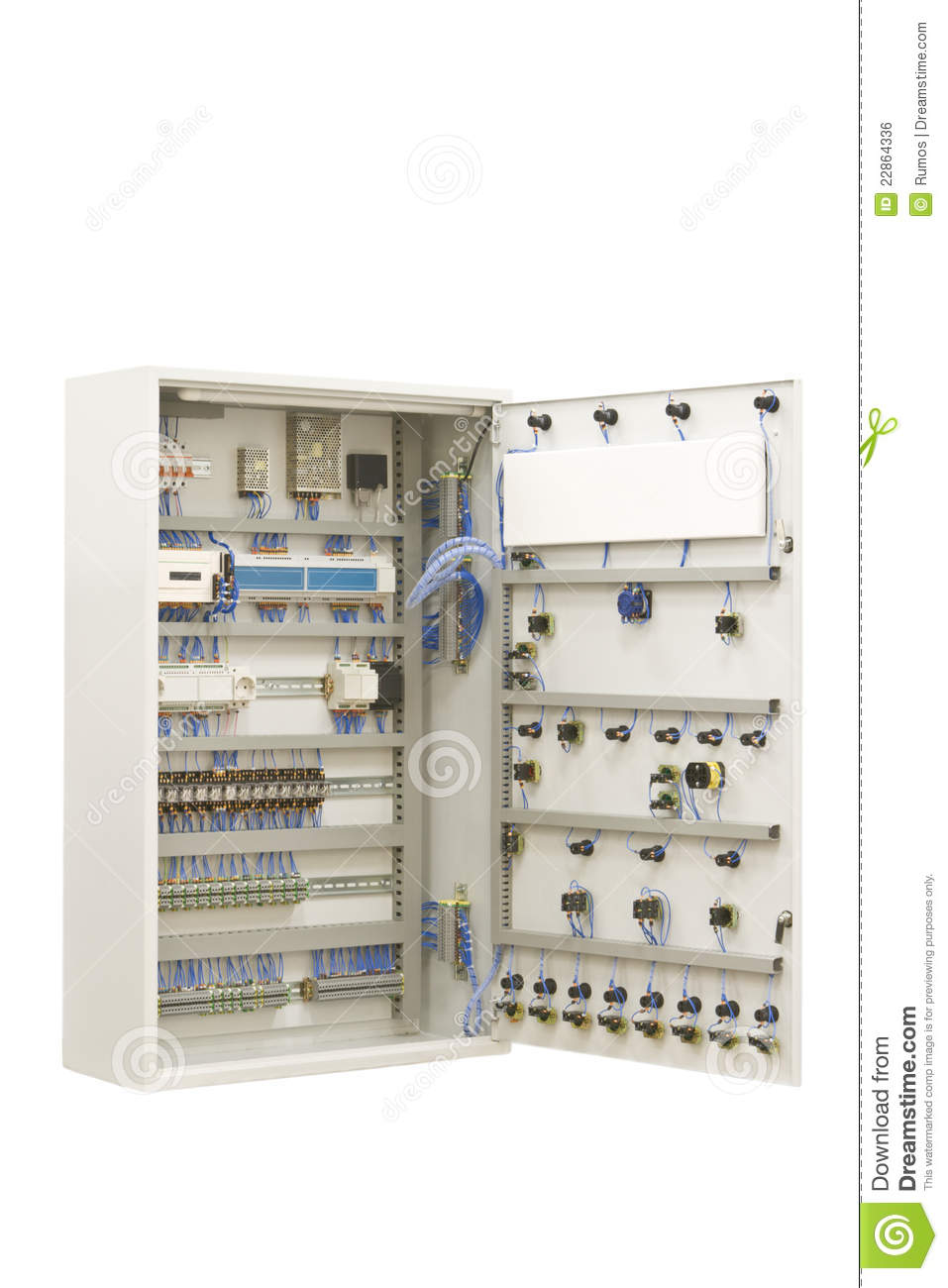 Industrial Electrical Switch Panel Stock Photo Image Of Order Picture