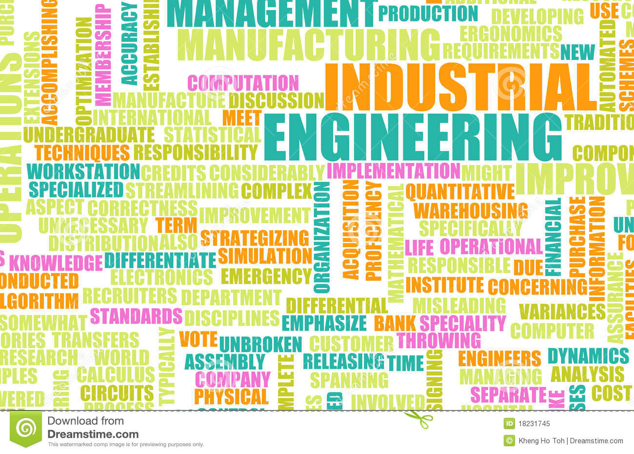 Industrial Engineering Royalty Free Stock Photo Image