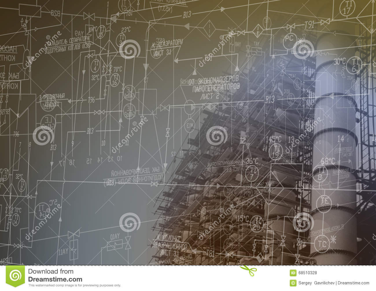 Industrial Engineering Technology Stock Photo - Image: 68510328