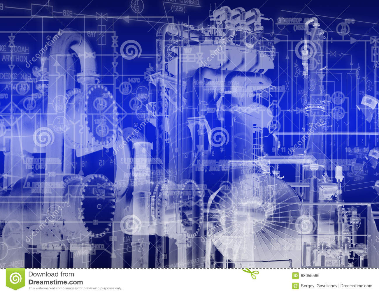 Industrial Engineering Technology Stock Photo - Image: 68055566
