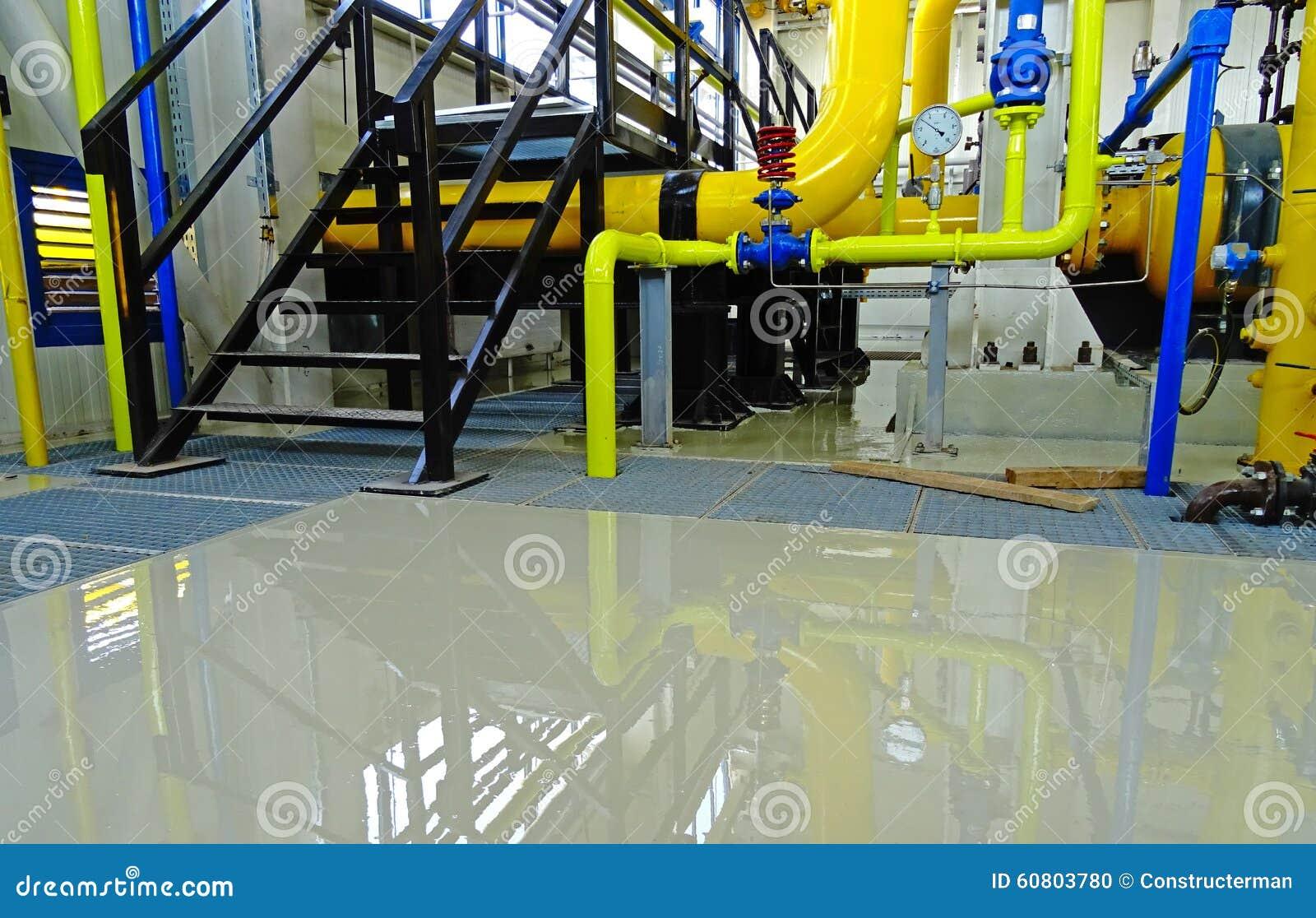 Industrial Epoxy Floor Stock Photo Image 60803780