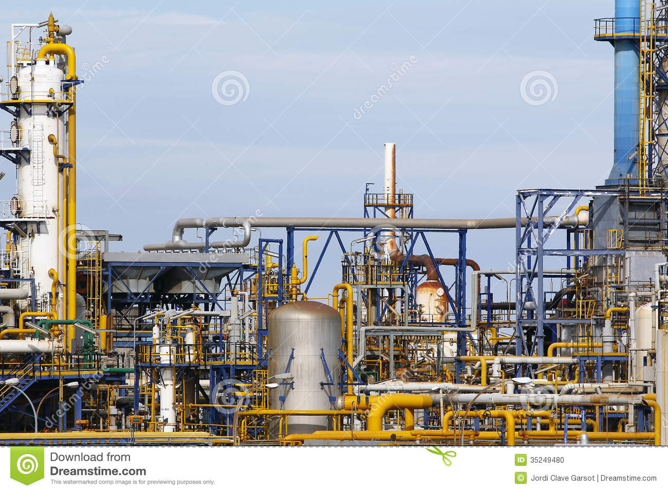 Industrial Facilities Stock Photo Image Of Stack