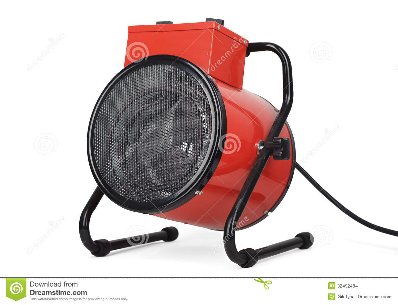 People Using Electric Fan : Industrial fan heater stock images image
