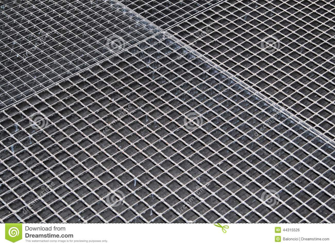 Industrial Floor Grating Stock Photo Image Of Metal