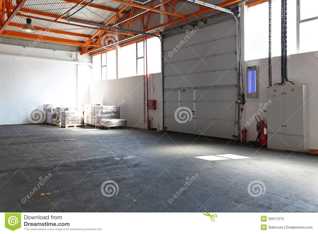Industrial garage door stock photo image of industrial 35911272 industrial garage door rubansaba