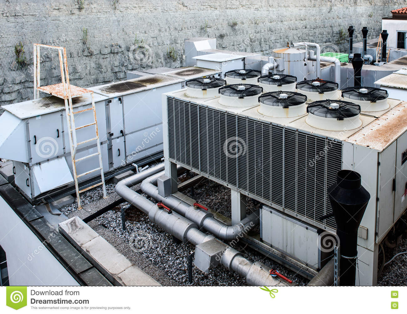 Industrial Air Ventilator : Industrial heating ventilation and air conditioning