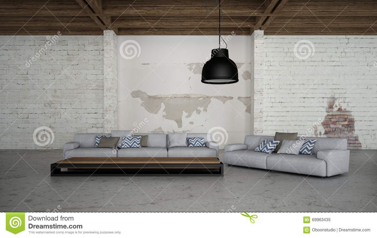 Industrial Interior 3d Render Images Stock Illustration ...