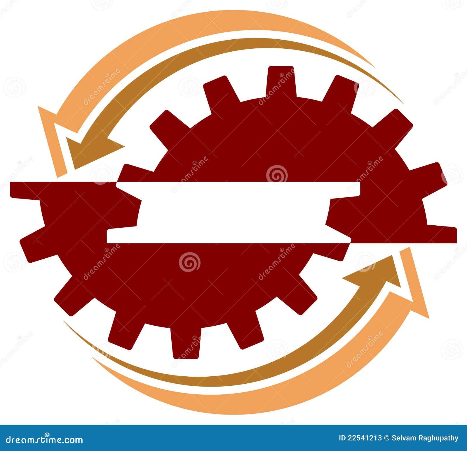 Industrial Logo Stock Photos - Image: 22541213