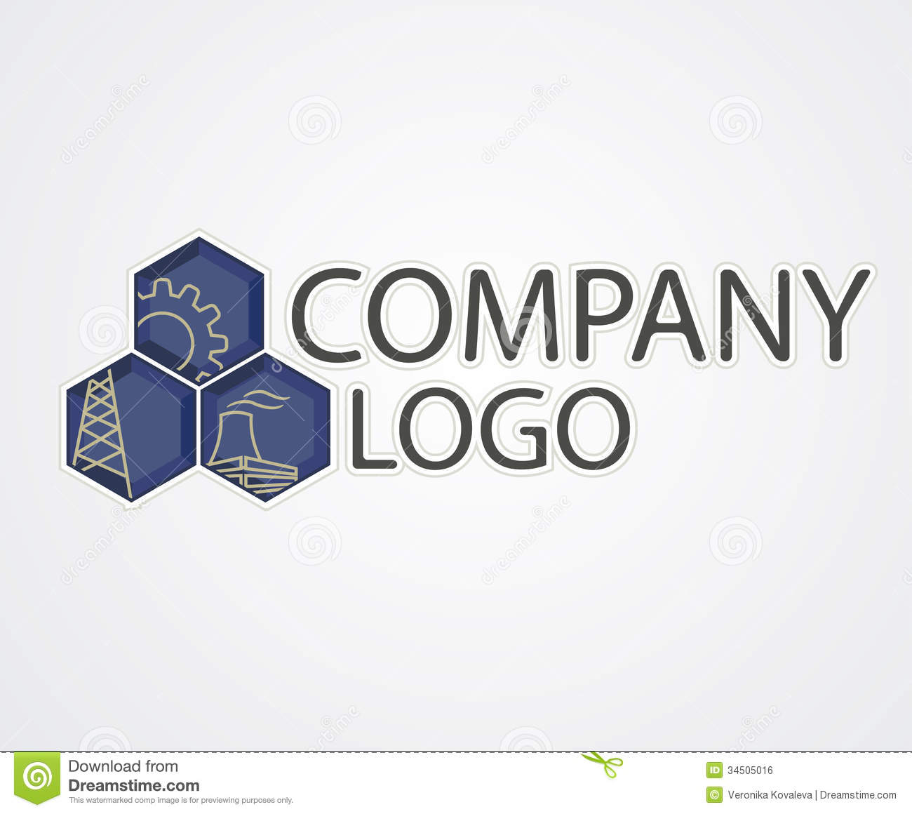 Industrial logo stock vector. Image of drill, factory ...