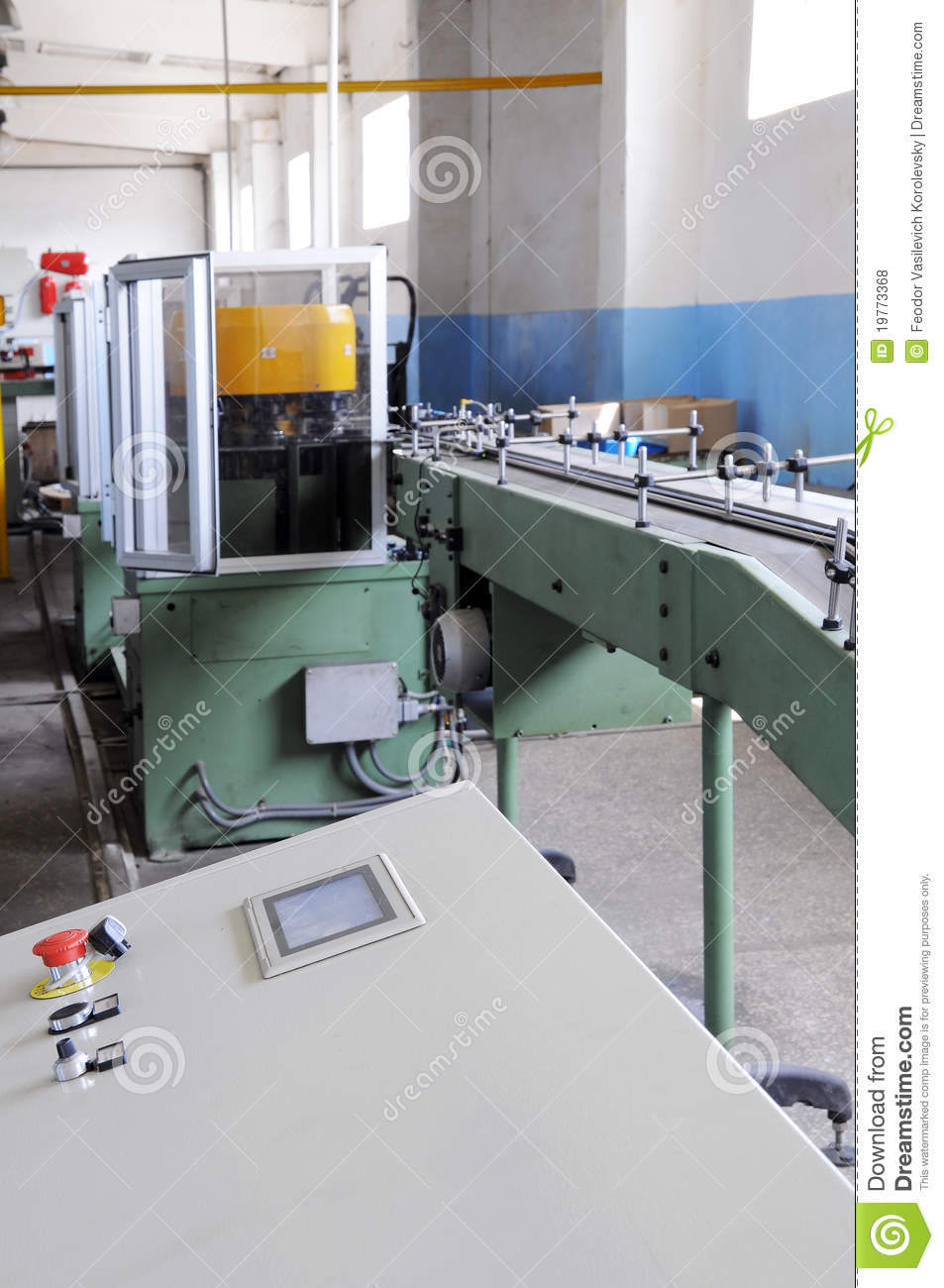 Industrial Machine Tools Royalty Free Stock Photos