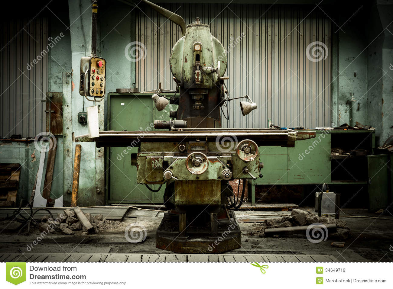Industrial+Machinery Industrial Machines In A Factory Royalty Free ...