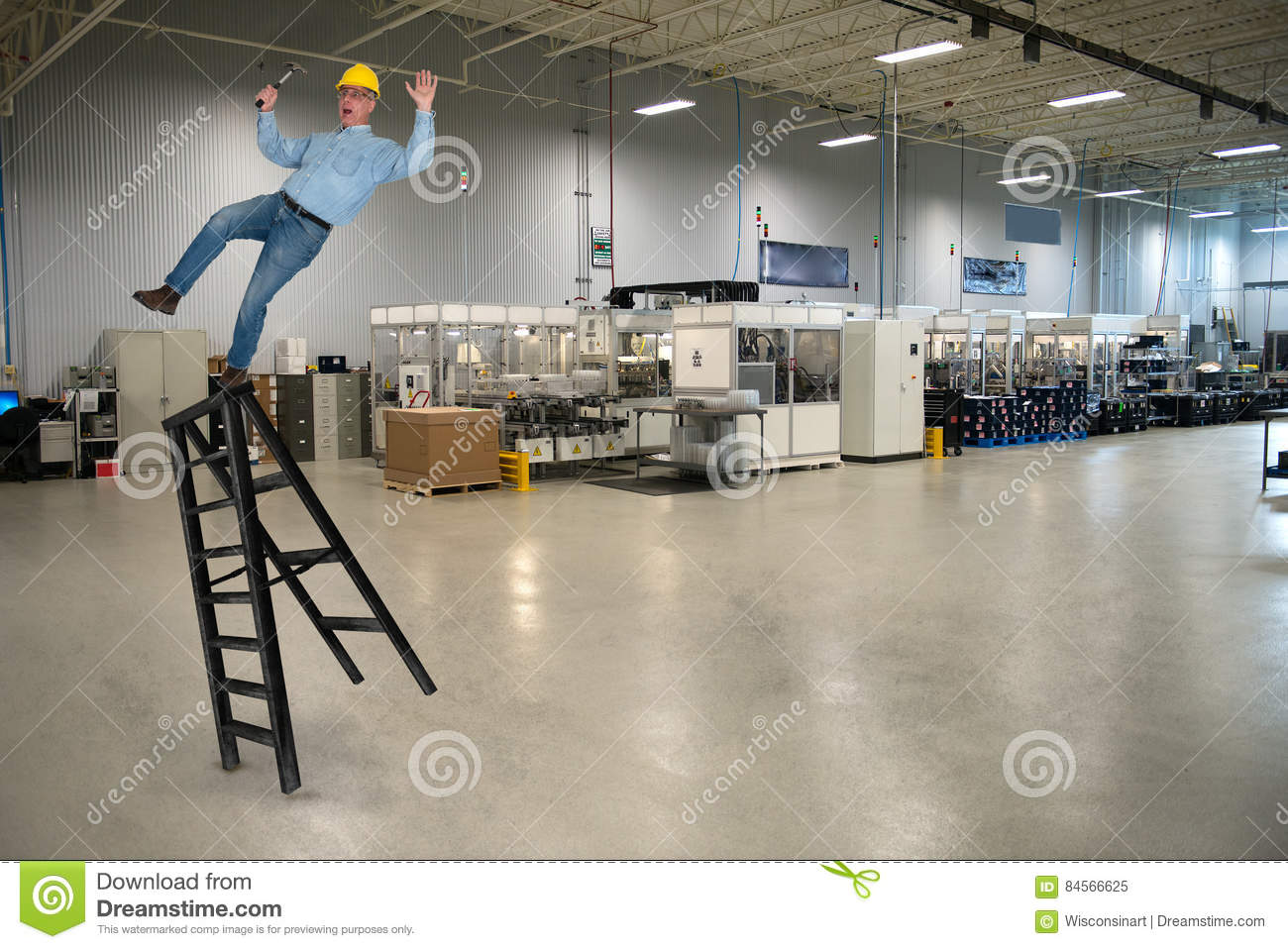 Industrial Manufacturing Factory Job Safety
