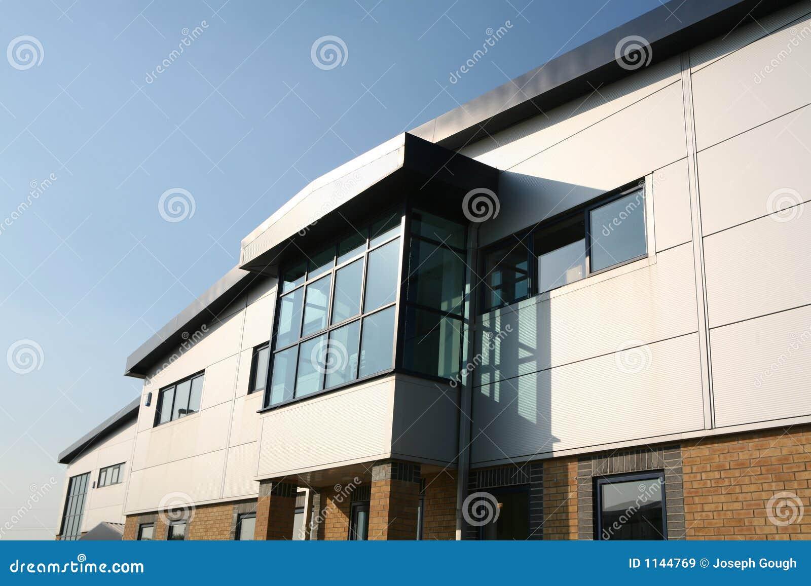 Industrial Office Building Unit Block