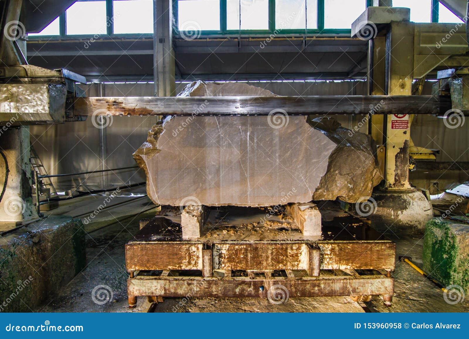 Industrial piedra del corte