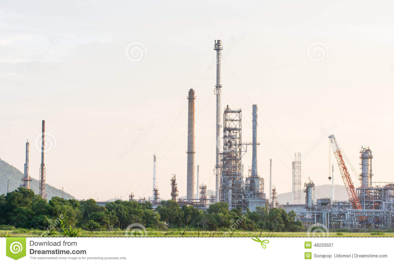 Download Industrial Plant Power Station Stock Image - Image of powerhouse, fuel: 48220507