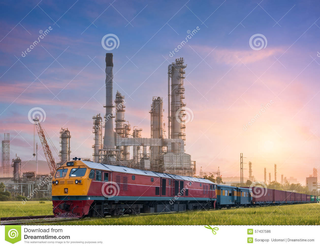 Industrial plant power station