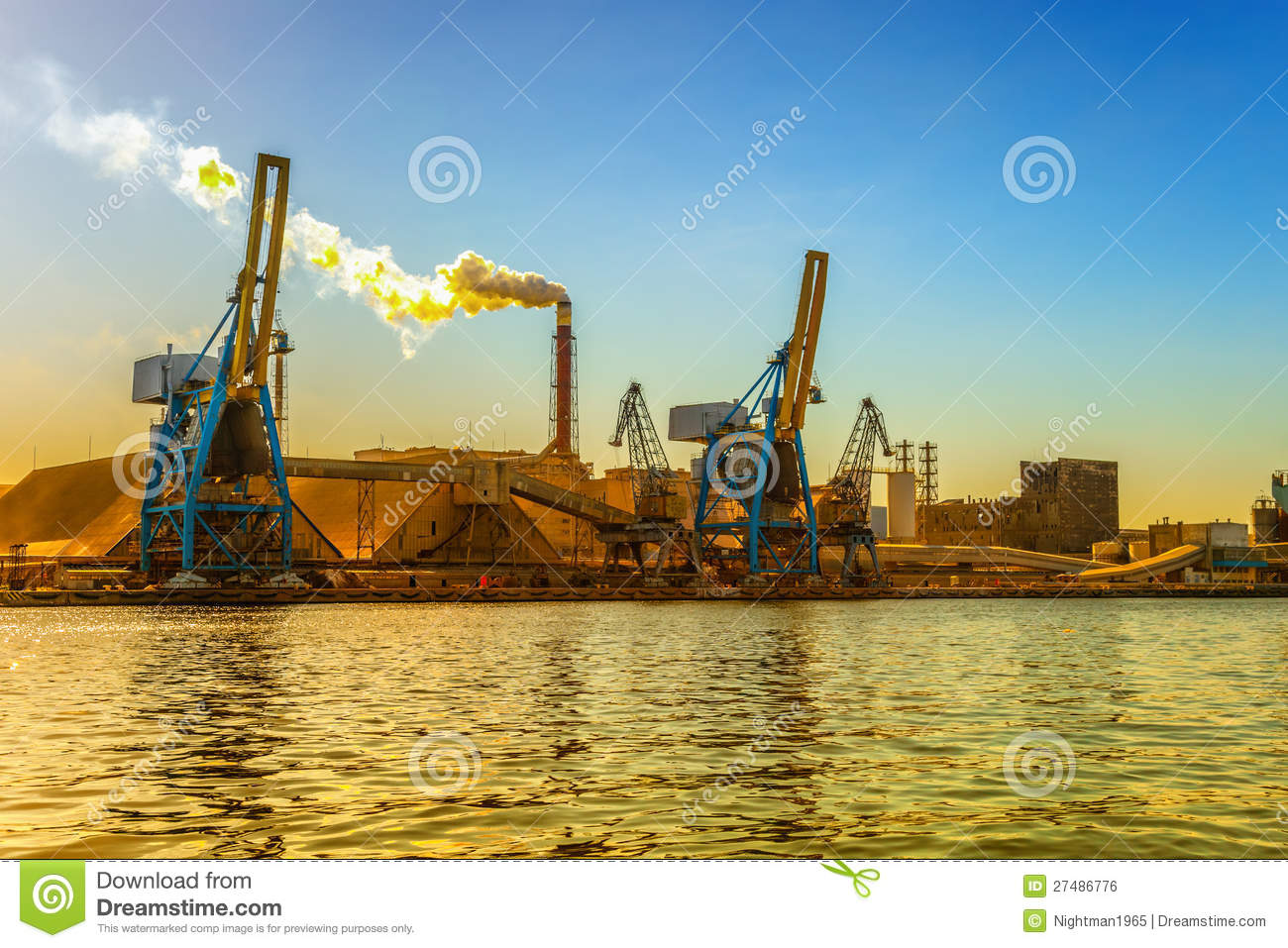 Industrial Pollution Stock Photo Image Of Industrial