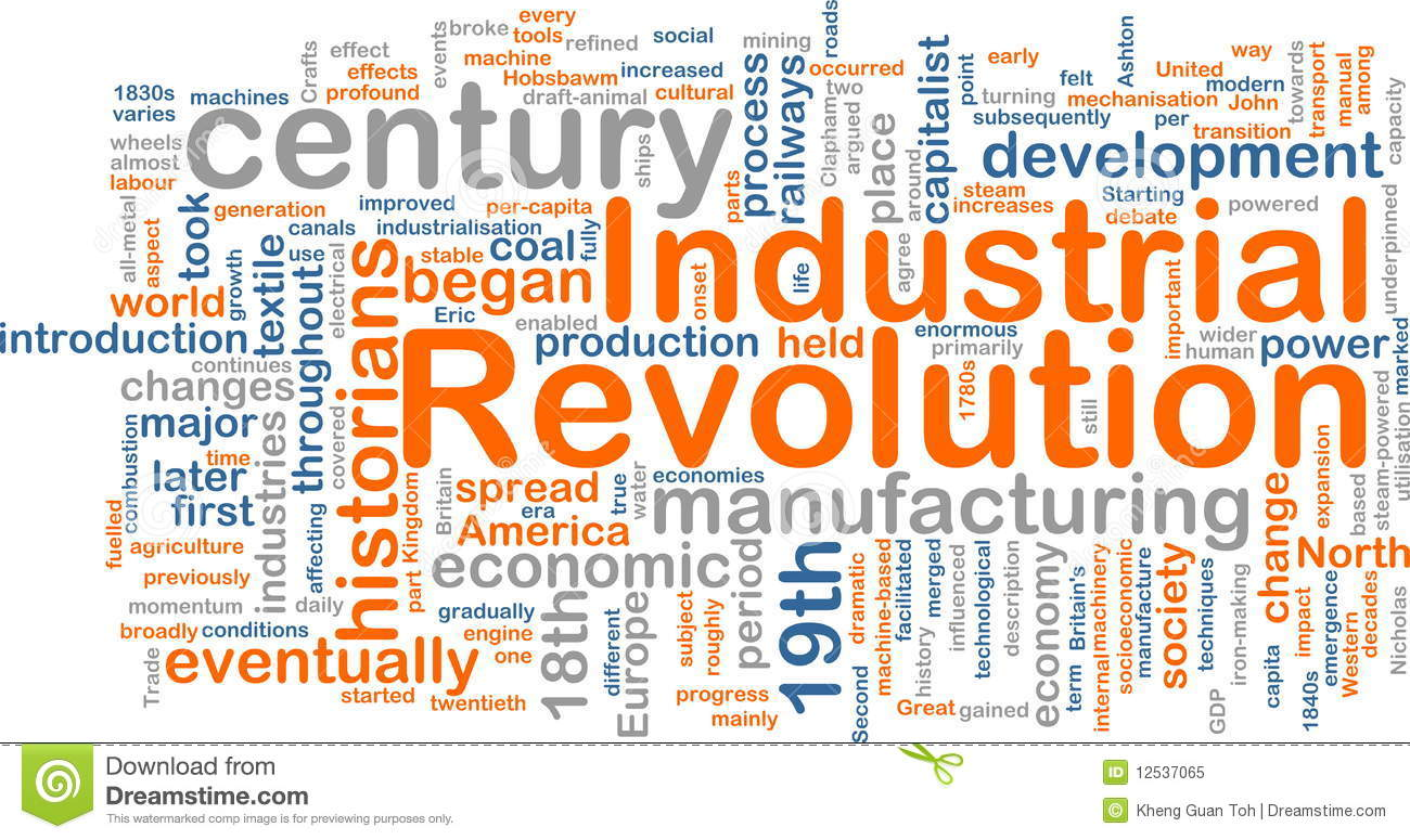 the effects of the industrial revolution on the american society