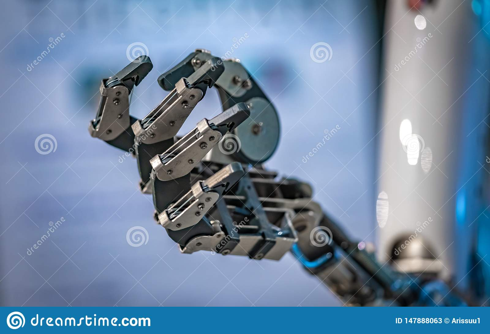Industrial Robot With Mechanical Flexible Joint