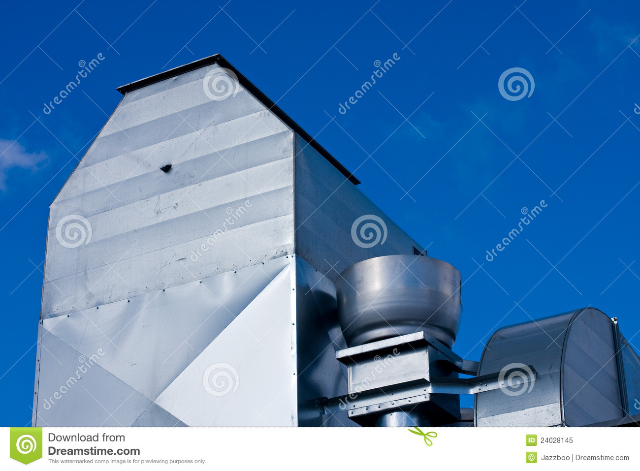 Industrial Roof Ventilation Royalty Free Stock Photo Image: 24028145 #0054AC