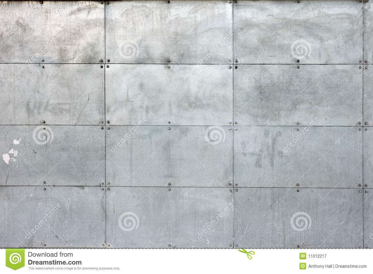 Industrial Siding Background Royalty Free Stock